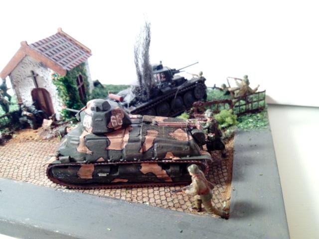 Amère victoire juin 1940 -- Somua S-35 (Heller) -- Pzkfwz 38 (t) (Armourfast) -- 1/72 Dio_te11