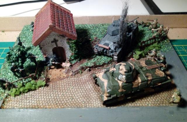 Amère victoire juin 1940 -- Somua S-35 (Heller) -- Pzkfwz 38 (t) (Armourfast) -- 1/72 Dio_te12