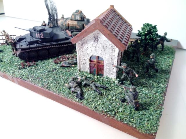 Amère victoire juin 1940 -- Somua S-35 (Heller) -- Pzkfwz 38 (t) (Armourfast) -- 1/72 Dio_te13