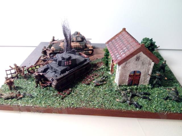 Amère victoire juin 1940 -- Somua S-35 (Heller) -- Pzkfwz 38 (t) (Armourfast) -- 1/72 Dio_te14