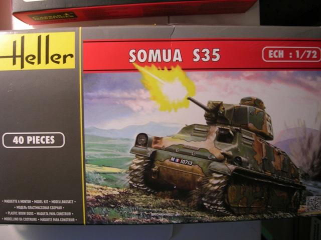 SOMUA S - 35 -- HELLER  1/72  Dscn3610