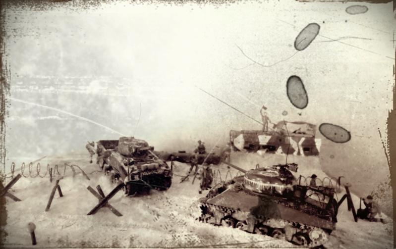 Gold Beach, juin 44 -- Sherman crab (Airfix) 1/72 Gold_b11