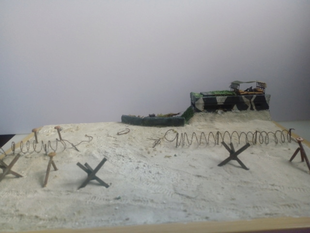 Gold Beach, juin 44 -- Sherman crab (Airfix) 1/72 Img_2043