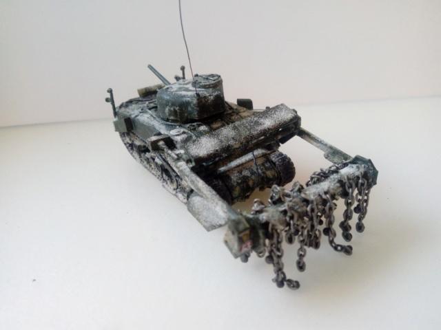 Sherman Crab Tank - AIRFIX - 1/72 Img_2049