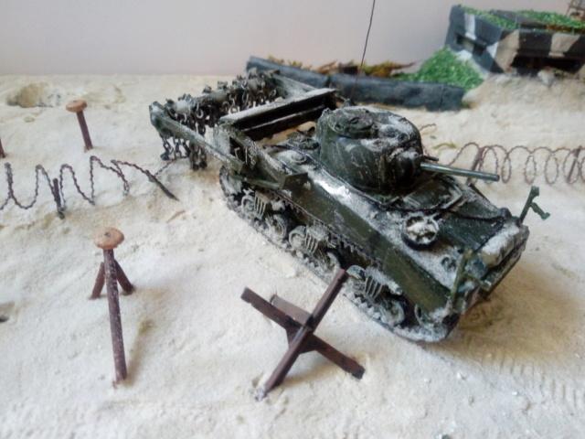 Sherman Crab Tank - AIRFIX - 1/72 Img_2050