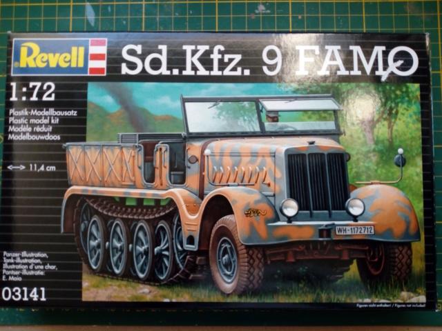 Sd.Kfz. 9  FAMO    &    17 cm Kanone 18  --  Revell - 1/72  Img_2100