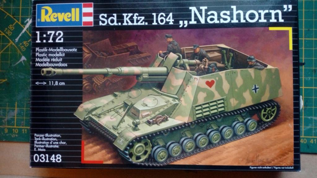 """Sd.Kfz 164 """" Nashorn """" --Revell -- 1/72 Img_2180"""