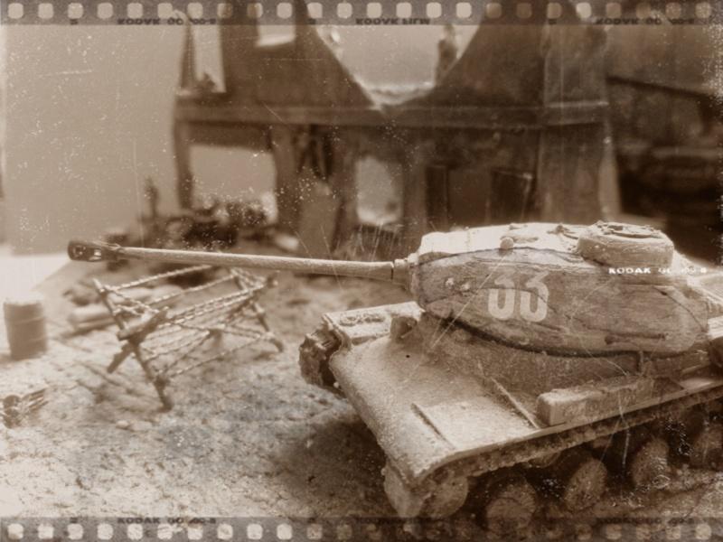 Berlin 1945 -- 1/72 -- Pak 40 Revell et Js 2 Italeri  Photos11