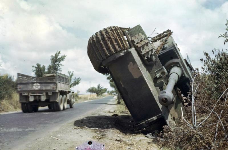 ITALIE  1944 - Tigre & Sherman  au 1/72ème Tigert10