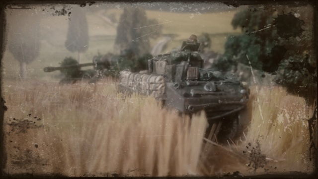 Photo souvenir -- M5A1 Stuart , SdKfz 173 Jagpanther & Panther  Zopoqu10