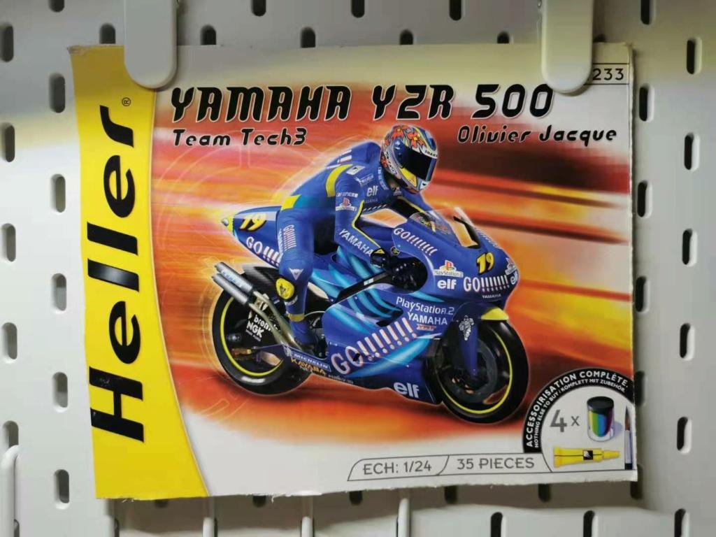 """Yamaha YZR 500 """"Olivier Jacque"""" in 1:24 von Heller Africa10"""