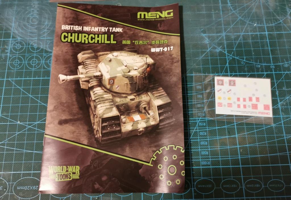 British Infantry Tank Churchill, Meng, World War Toons Img_2037