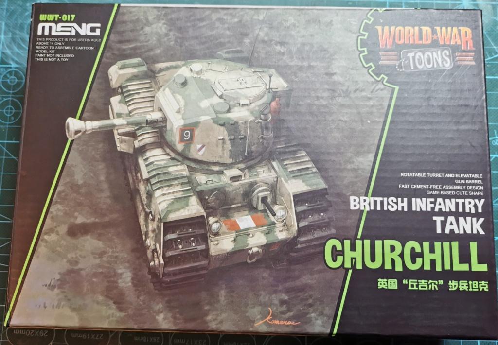 British Infantry Tank Churchill, Meng, World War Toons Img_2041