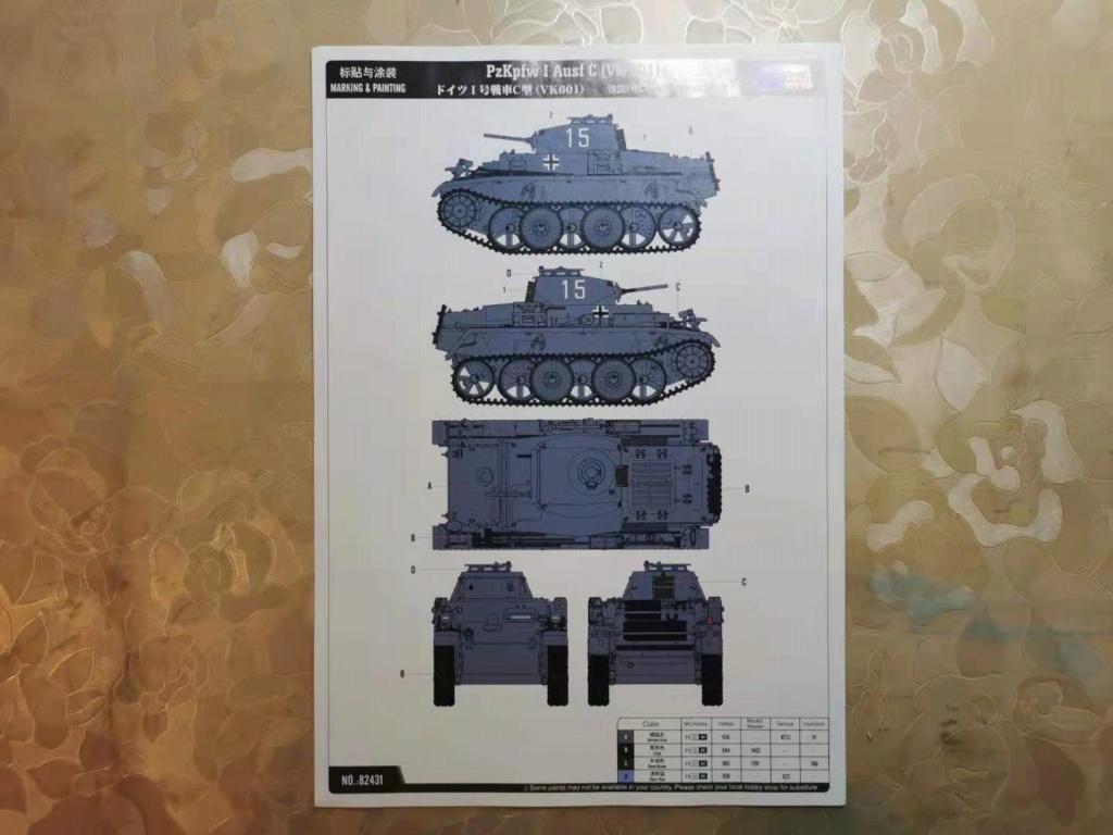 PzKpfw I Ausf C (VK 601) Wecha110