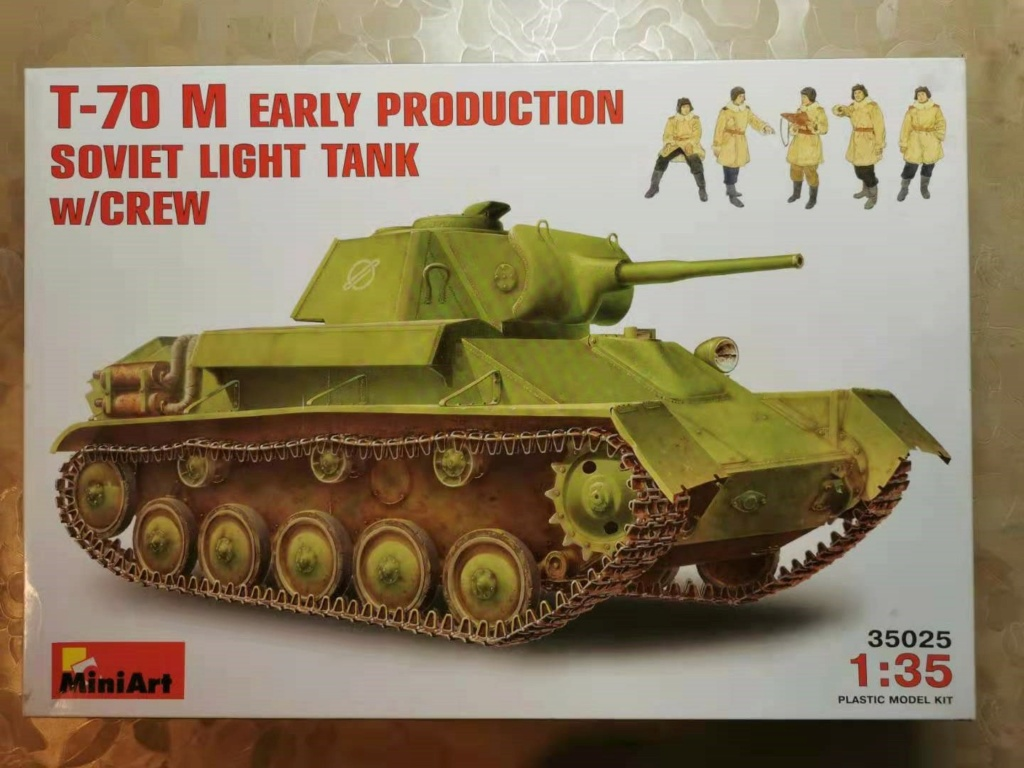 T-70 M fruehe Version mit Mannschaft Wechat84