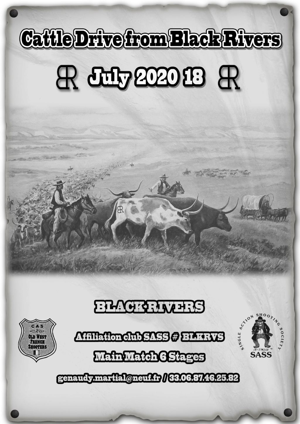 cattle drive 2020 Affich13
