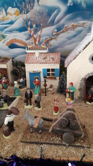 Village de noêl 2018 de Micheline 20181228