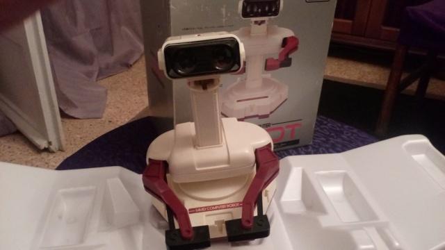 [VDS] ROB the robot + Lot jeux SFC  44110110