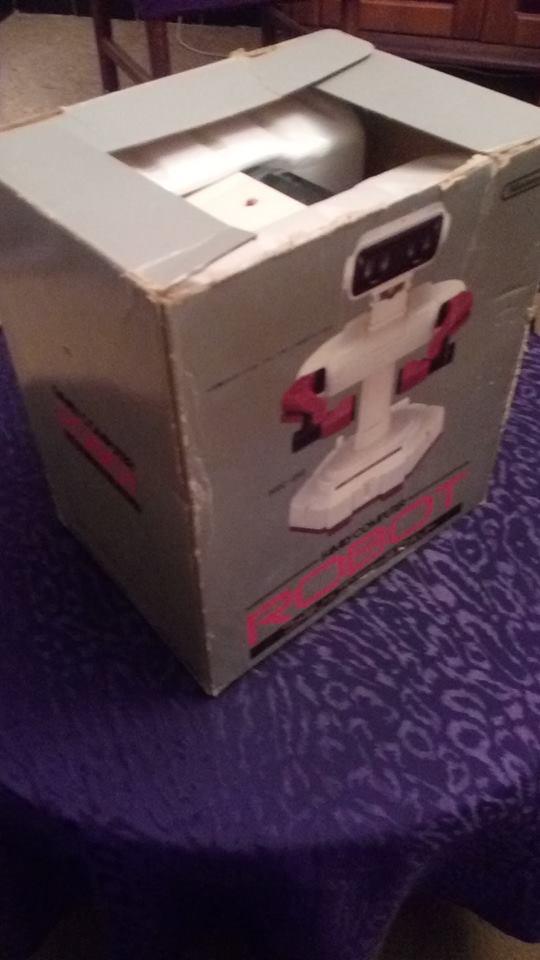 [VDS] ROB the robot + Lot jeux SFC  44122110