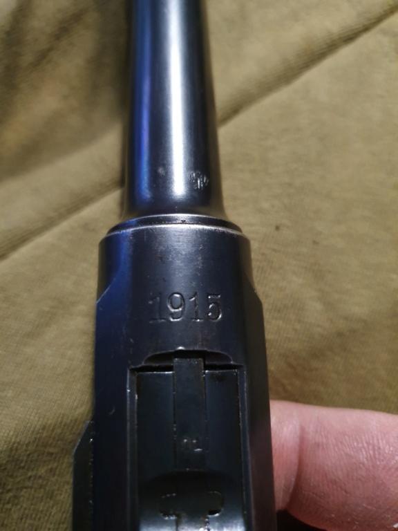Mon Luger P08 DWM 1915 régimenté 20191112