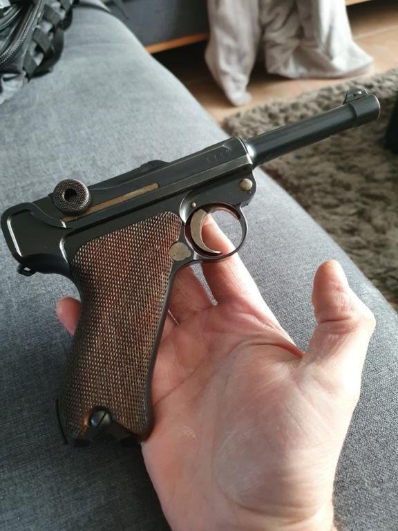 Mon Luger P08 DWM 1915 régimenté 20191212