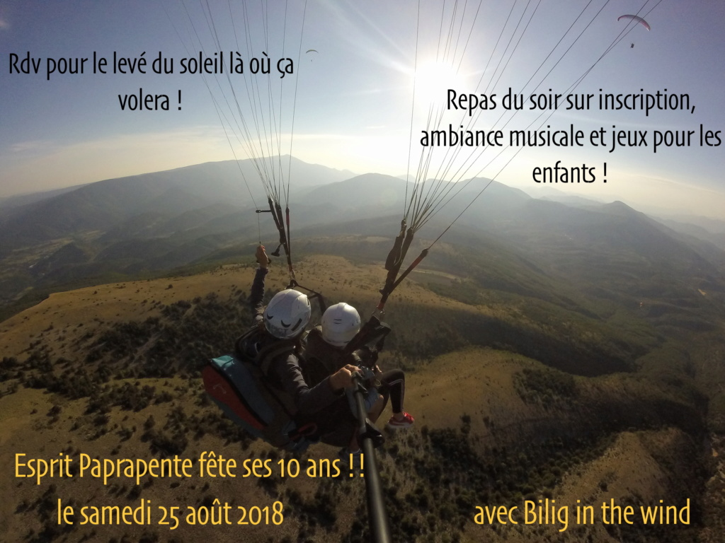 """FETE DES 10 ANS DE """"ESPRIT PARAPENTE"""" Affich10"""