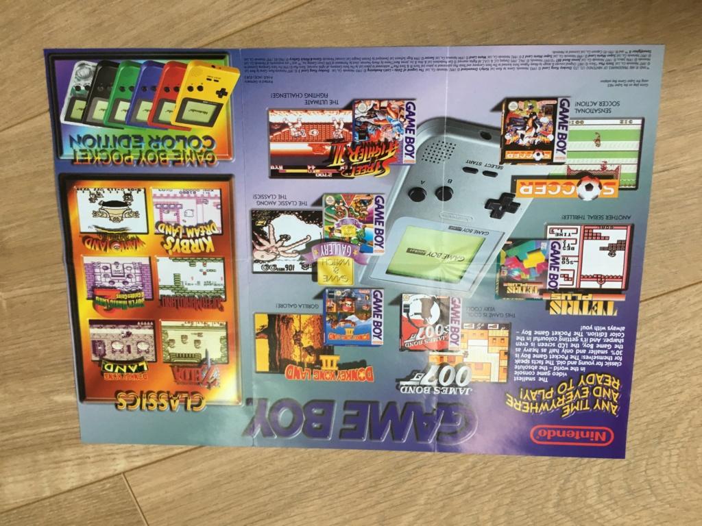 Publicités Nintendo, posters, pad 8BitDo SFC30 - POP Megaman, Star Wars... Img_7223