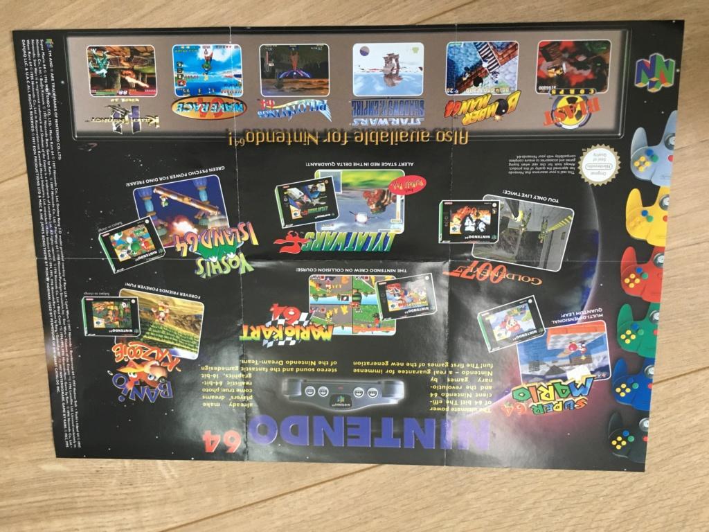 Publicités Nintendo, posters, pad 8BitDo SFC30 - POP Megaman, Star Wars... Img_7226