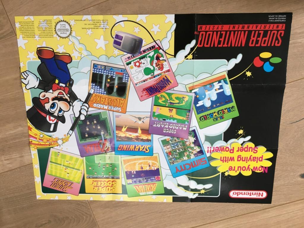 Publicités Nintendo, posters, pad 8BitDo SFC30 - POP Megaman, Star Wars... Img_7227