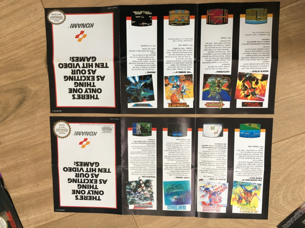 Publicités Nintendo, posters, pad 8BitDo SFC30 - POP Megaman, Star Wars... Img_7229