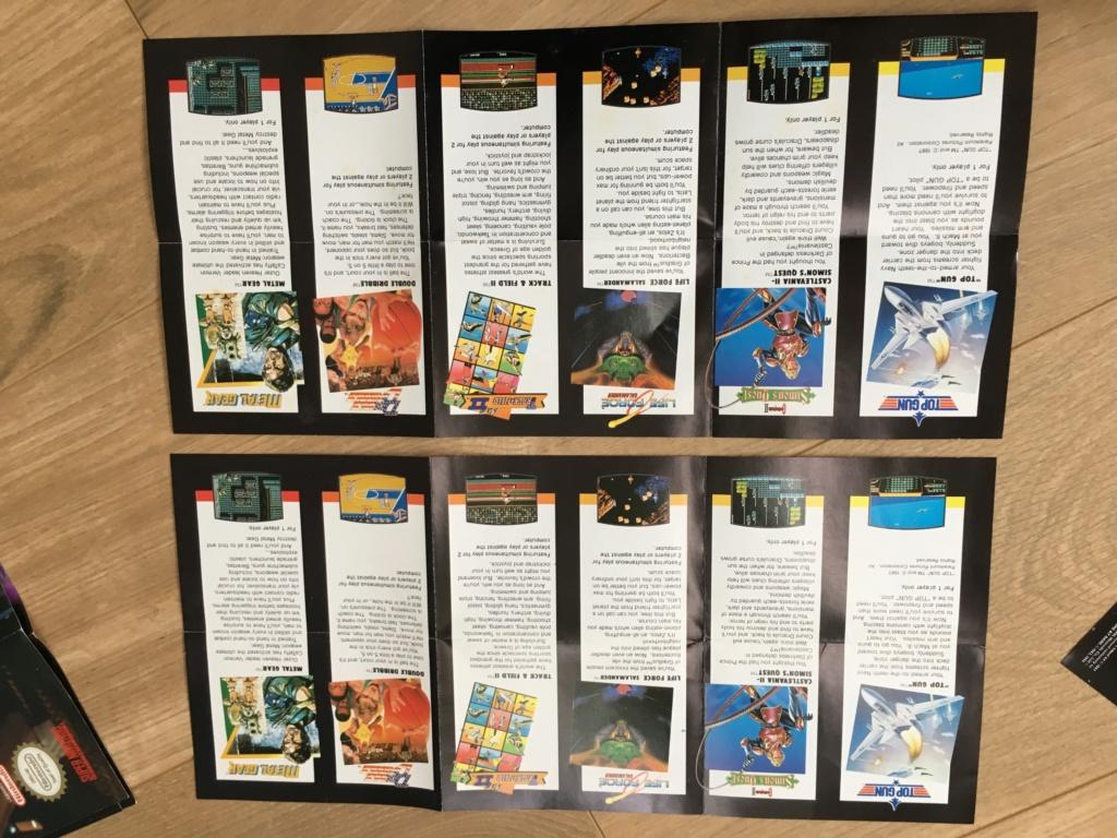 Publicités Nintendo, posters, pad 8BitDo SFC30 - POP Megaman, Star Wars... Img_7230