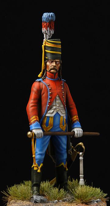 Brigadier trompette du 9 régiment de hussards. Hussar10
