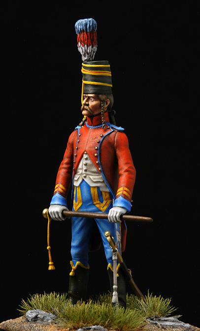Brigadier trompette du 9 régiment de hussards. Hussar12