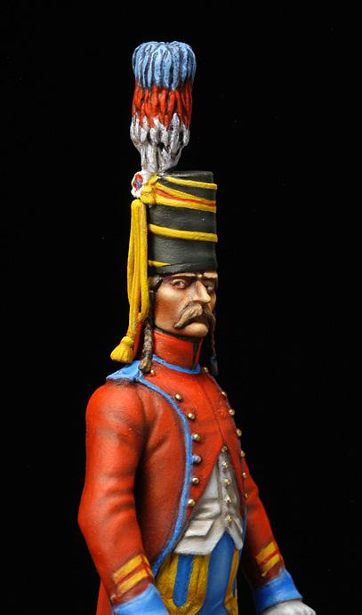 Brigadier trompette du 9 régiment de hussards. Hussar13