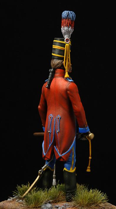 Brigadier trompette du 9 régiment de hussards. Hussar14