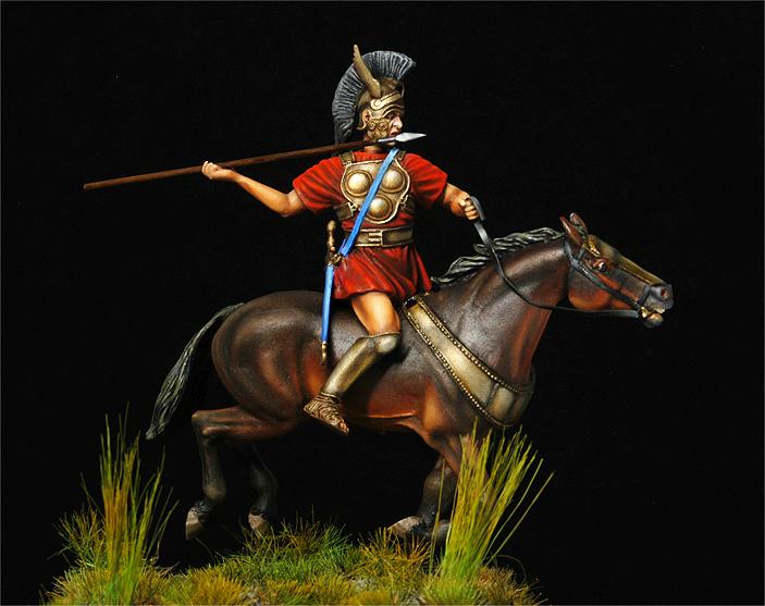 Cavalier samnite IV siècle av J-C-Suite- Samnit13