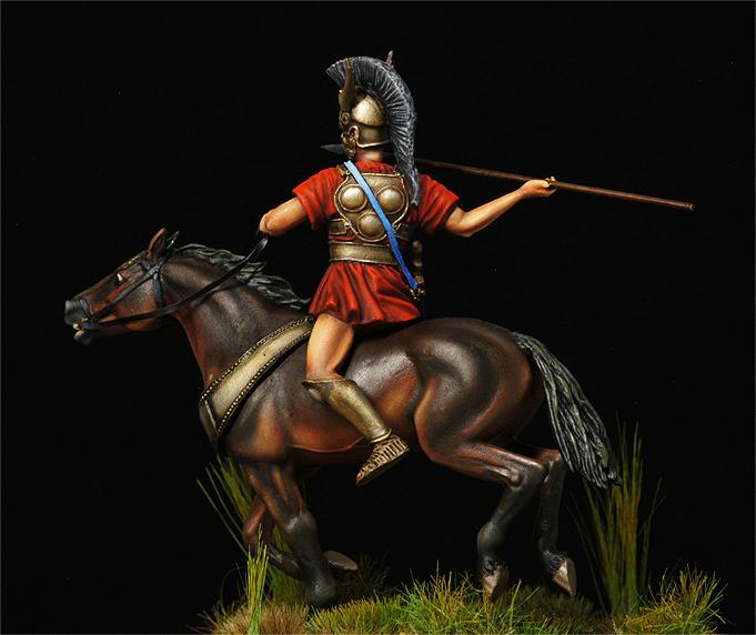 Cavalier samnite IV siècle av J-C-Suite- Samnit14