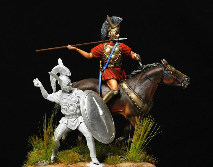 Cavalier samnite IV siècle av J-C-Suite- Samnit16