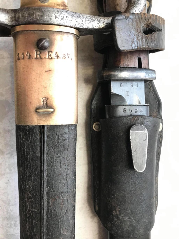 Baïonnette 1871 et 84/98 aux mêmes numéros   46759310