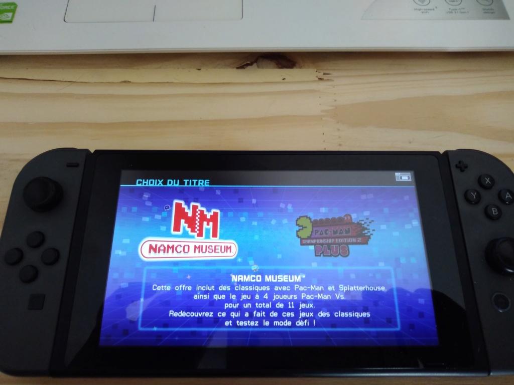 Nintendo Switch : L'arcade vintage pour tous !! - Page 7 Img_2040