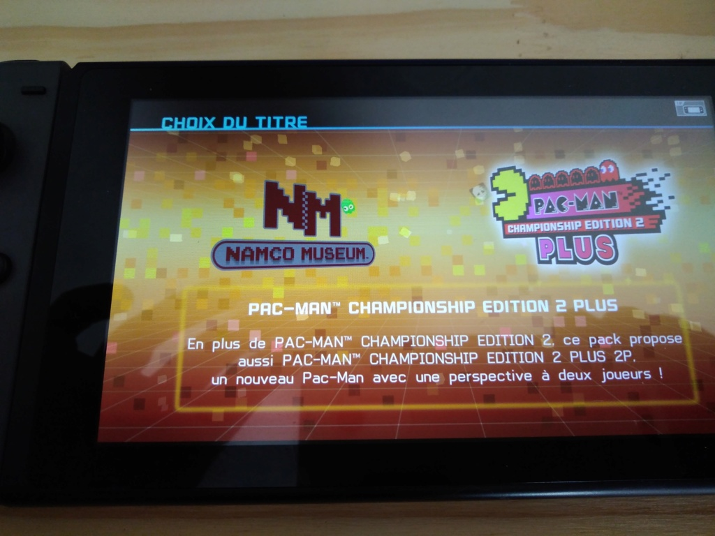 Nintendo Switch : L'arcade vintage pour tous !! - Page 7 Img_2041