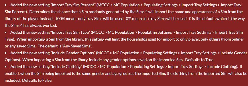 The MC Command Center Mod! [THE SIMS 4, VERSION 1.53.115.1020] 19626710