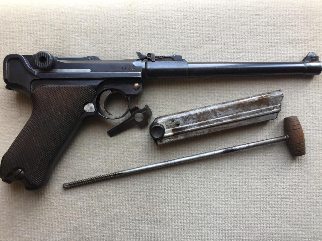 Luger LP 08 DWM 1917 étui et accessoires  00228510