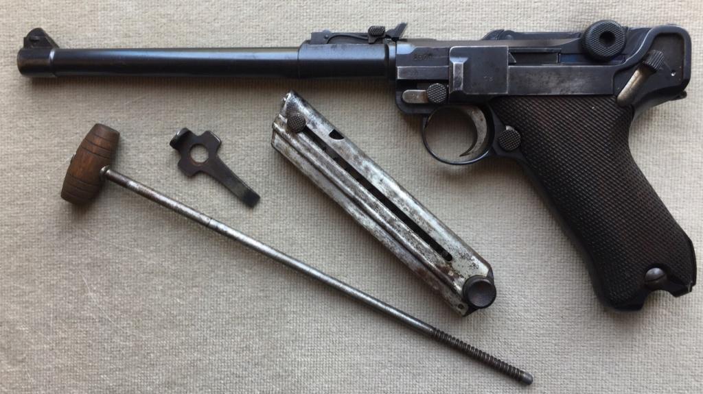 Luger LP 08 DWM 1917 étui et accessoires  2e4d5110