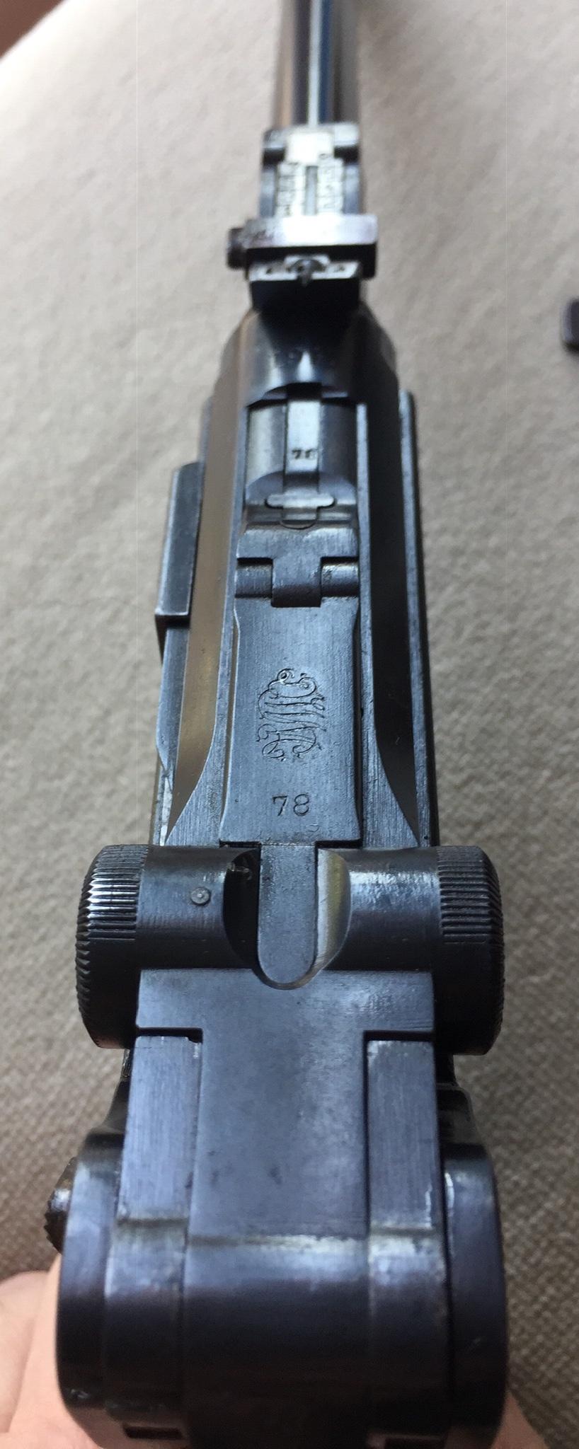 Luger LP 08 DWM 1917 étui et accessoires  60d2a910