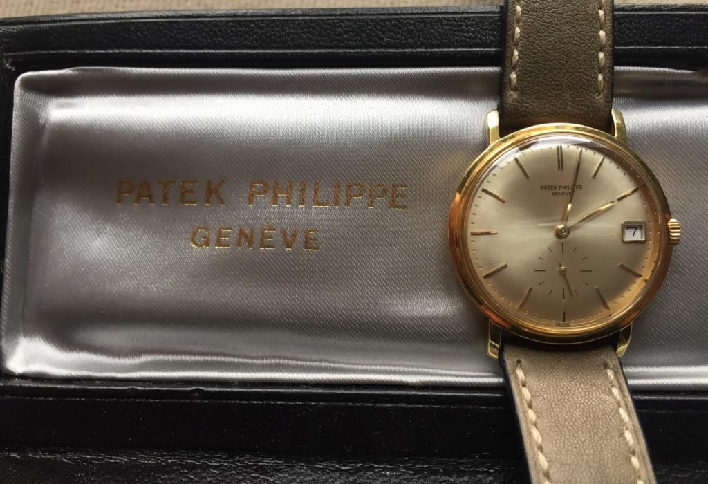 patek - Patek Pilippe Calatrava 3445 ... esprit vintage 744cb910