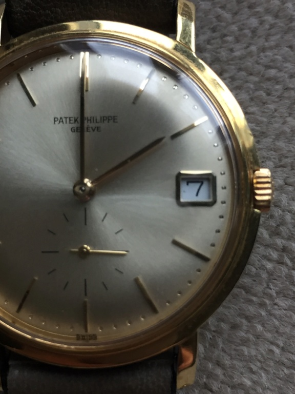 patek - Patek Pilippe Calatrava 3445 ... esprit vintage 968e7810