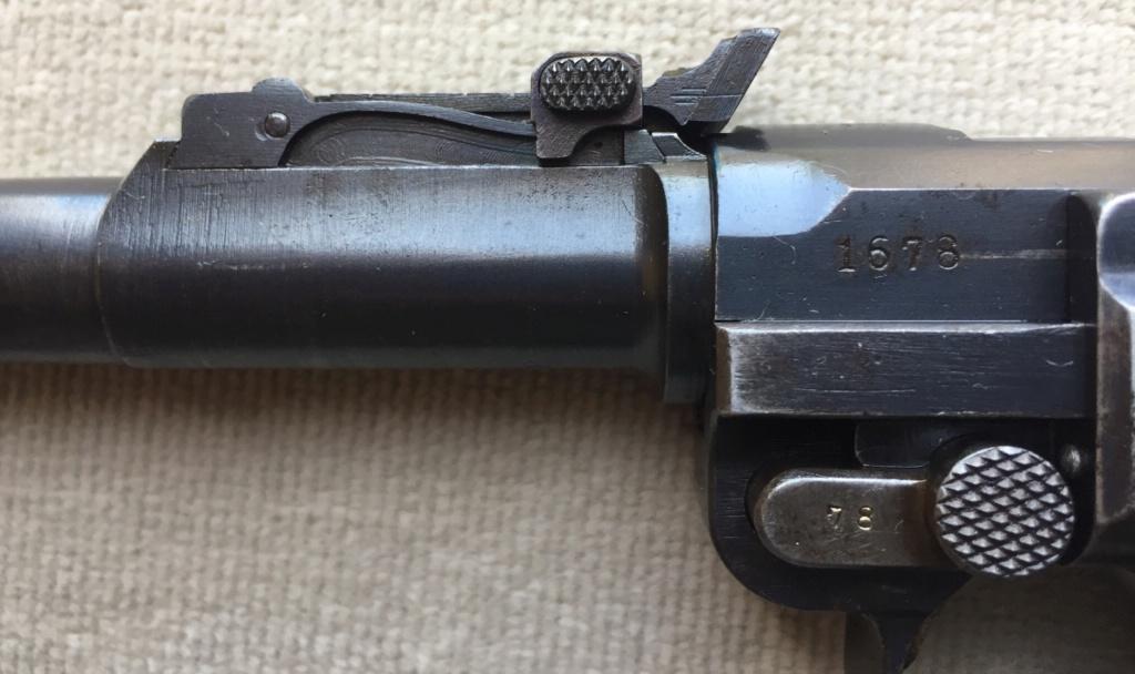 Luger LP 08 DWM 1917 étui et accessoires  A95f1510
