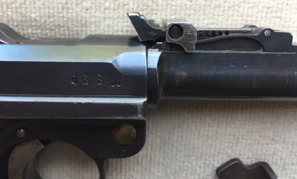 Luger LP 08 DWM 1917 étui et accessoires  Ddfe3210