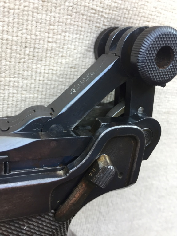 Luger LP 08 DWM 1917 étui et accessoires  F4d58f10